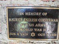 Pvt Maurice English Cooperman