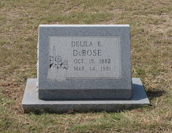 Delila Ernestine <I>Clements</I> Dubose