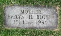 Evelyn Helen <I>Myers</I> Bloser