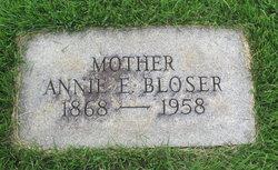 Annie Elizabeth <I>Bistline</I> Bloser