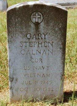 CDR Gary Stephen Calnan