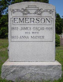 Rev James Oscar Emerson