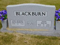 Ann Bowers <I>Hutcherson</I> Blackburn