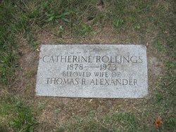Catherine <I>Rollings</I> Alexander