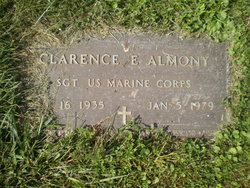 Sgt Clarence E Almony