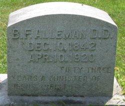 Rev B F Alleman
