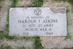 1SGT Harold T Atkins