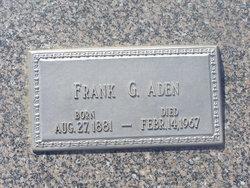 Frank G Aden