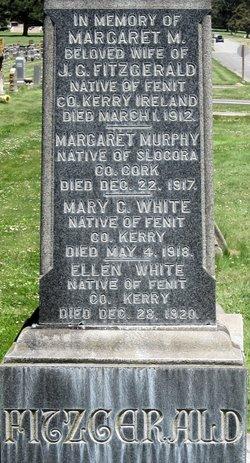 Margaret M <I>White</I> Fitzgerald