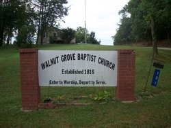 Walnut Grove Baptist Church Cemetery