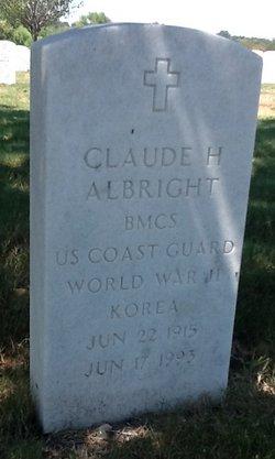 Claude H Albright