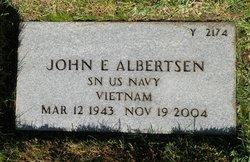 John E Albertsen