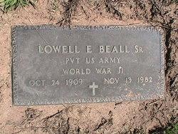 Lowell E Beall