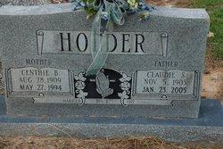 Centhie Beatrice <I>Tutor</I> Holder