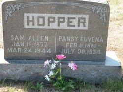Pansy Euvena <I>Garver</I> Hopper