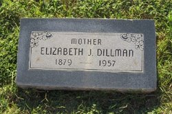 Elizabeth Jane <I>Buffington</I> Dillman