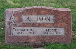 "Elizabeth Jane ""Bessie"" <I>Brown</I> Allison"