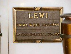 Emma <I>Weil</I> Lewi