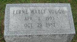 Ferne V <I>Wable</I> Vough