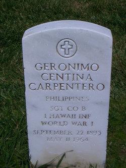 Geronimo Centina Carpentero