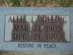 Allie I Bolling