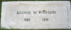Archie Welburn Pierson