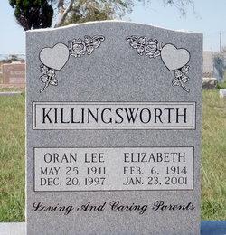 Oran Lee Killingsworth