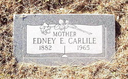 Edney E. <I>Pope</I> Carlile