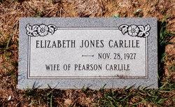 Elizabeth <I>Jones</I> Carlile