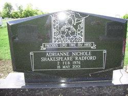 Adrianne Nicole <I>Shakespeare</I> Radford