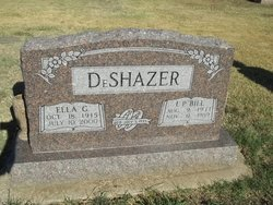 Ella Gertrude <I>Shuler</I> DeShazer