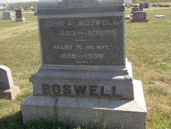Martha Renett <I>Webster</I> Boswell