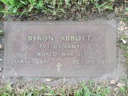 Pvt Byron Abbott