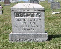 Alice B. <I>Kelly</I> Doherty