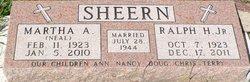 Martha A <I>Neal</I> Sheern