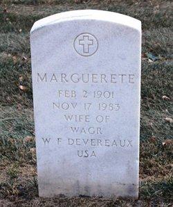 Marguerete Devereaux
