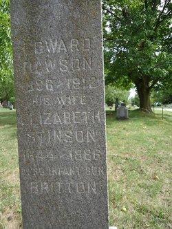 Elizabeth <I>Stinson</I> Dawson