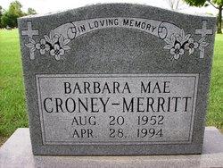 Barbara Mae <I>Croney</I> Merritt