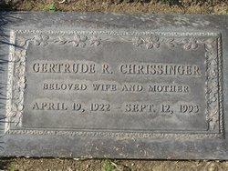 Gertrude Ruby <I>Dustman</I> Chrissinger