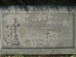 Betty I <I>Osborn</I> Lane