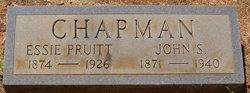 Essie <I>Pruitt</I> Chapman