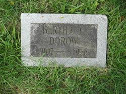 Bertha L Dorow