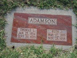 Ruth <I>Jacobs</I> Adamson
