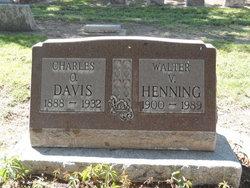 Charles O Davis
