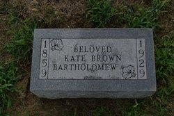 Kate <I>Kirkendall</I> Bartholomew