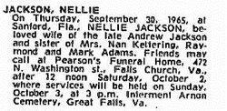 "Ella Josephine ""Nellie"" Jackson"