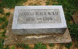 Nellie Frances <I>Burch</I> McKay