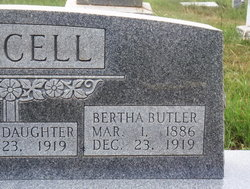 Bertha <I>Butler</I> Purcell