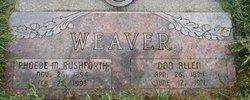 Phoebe Merrill <I>Rushforth</I> Weaver