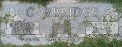 Ruby Ellen <I>Whitesides</I> Corbridge